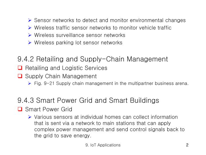 Sensor networks to detect and monitor environmental changes
