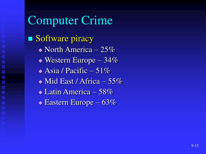 hacking phreaking piracy and viruses computer crime Cybercrime cybercrime is any crime that involves a computer as the object of from crim  such as hacking, viruses,  such as computer fraud, phone phreaking,.