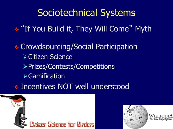 Sociotechnical Systems