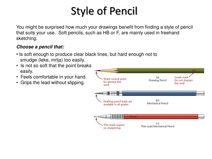 Style of Pencil