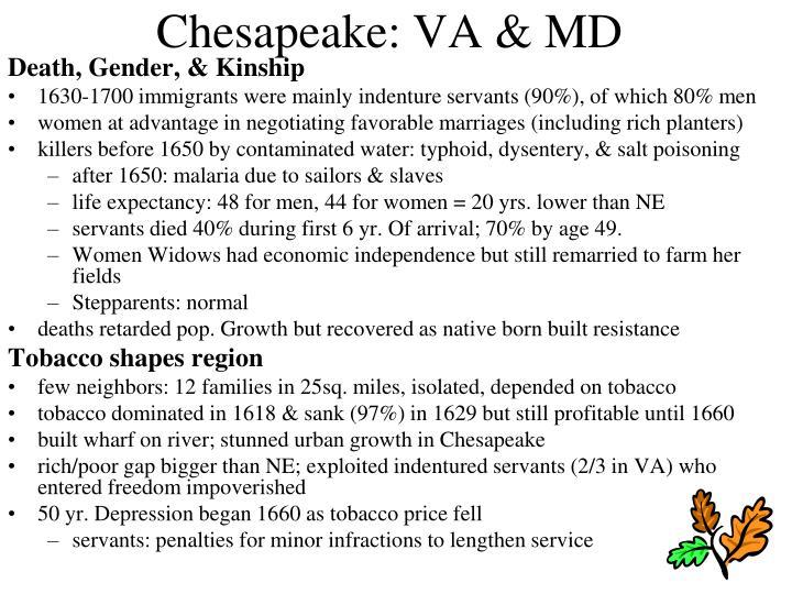 Chesapeake: VA & MD