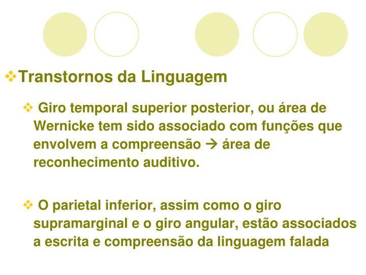 Transtornos da Linguagem