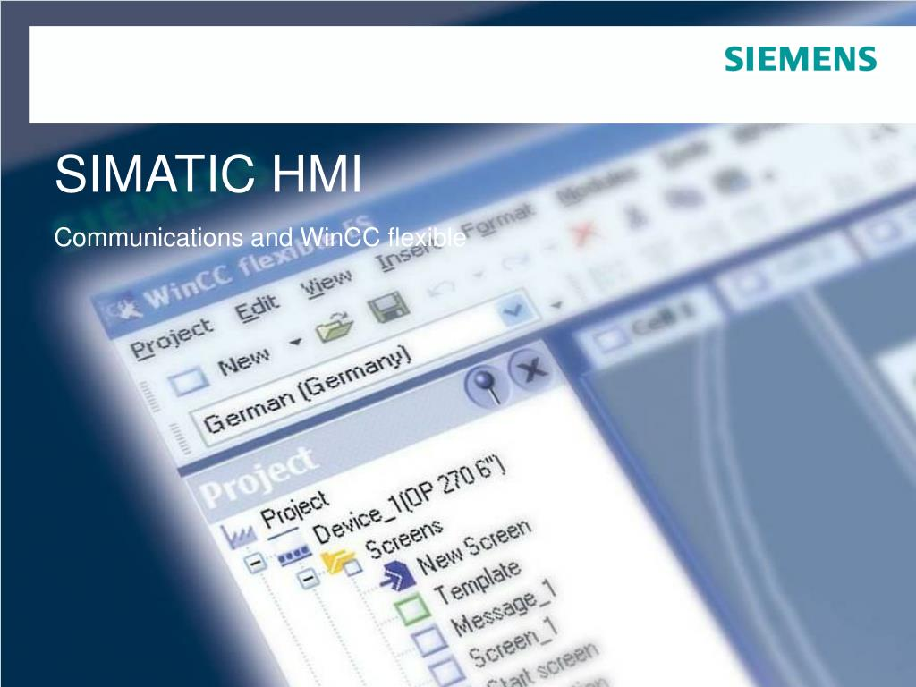 PPT - SIMATIC HMI PowerPoint Presentation - ID:6873804