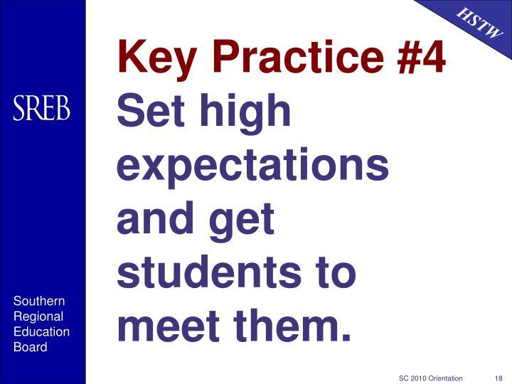 Key Practice #4