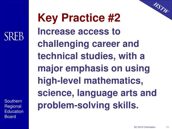 Key Practice #2