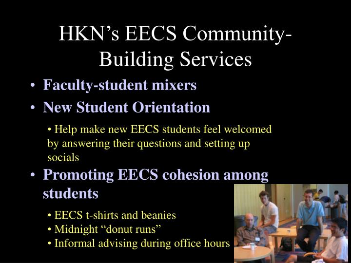 HKN's EECS Community-Building Services