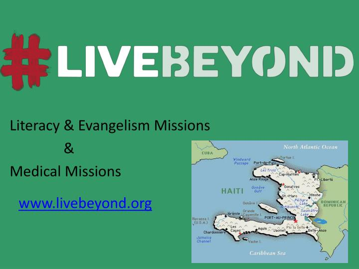 Literacy & Evangelism Missions