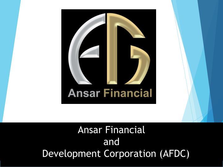 Ansar Financial