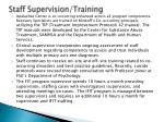 staff supervision training