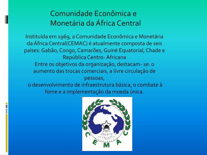 Comunidade Econômica e Monetária da África Central
