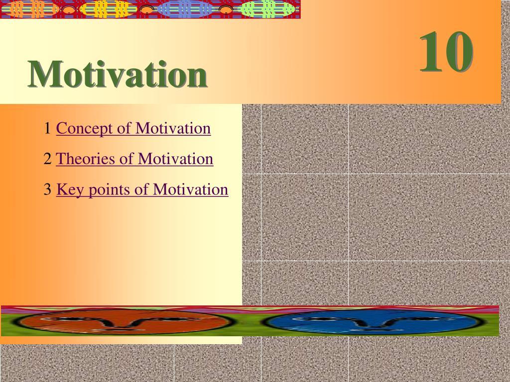 PPT - Motivation PowerPoint Presentation - ID:6874849