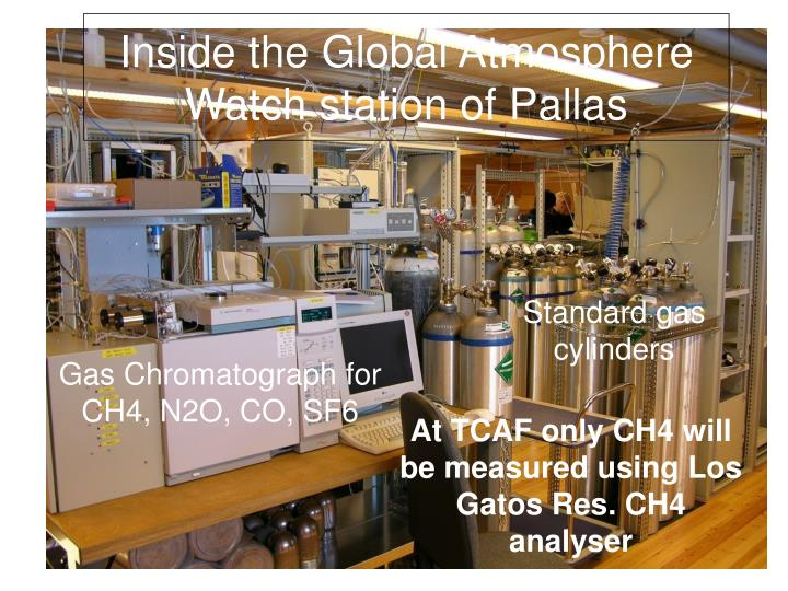 Inside the Global Atmosphere Watch station of Pallas