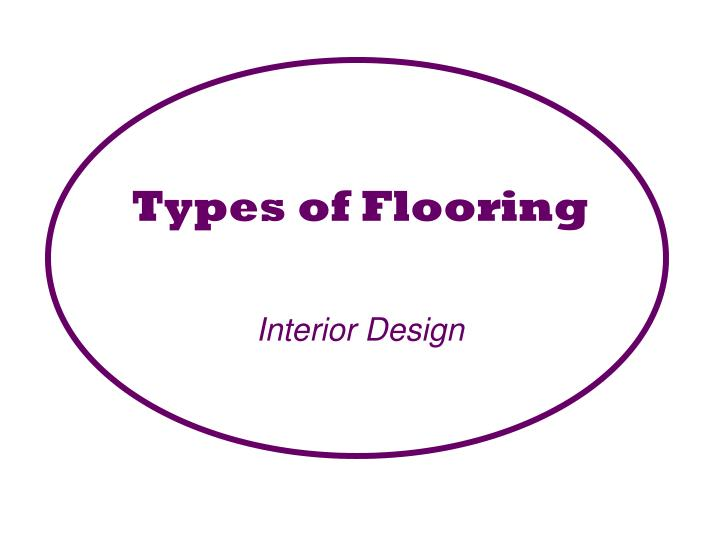 What are the Different Types of Floor Covering with