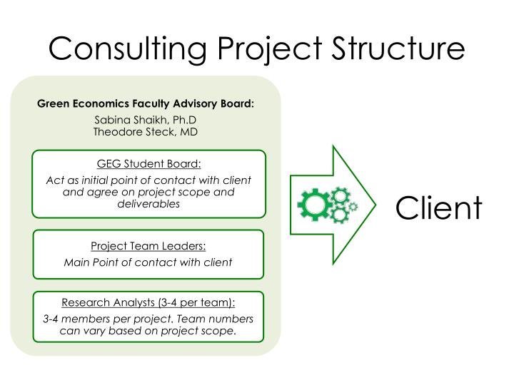 Consulting Project Structure