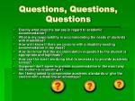 questions questions questions