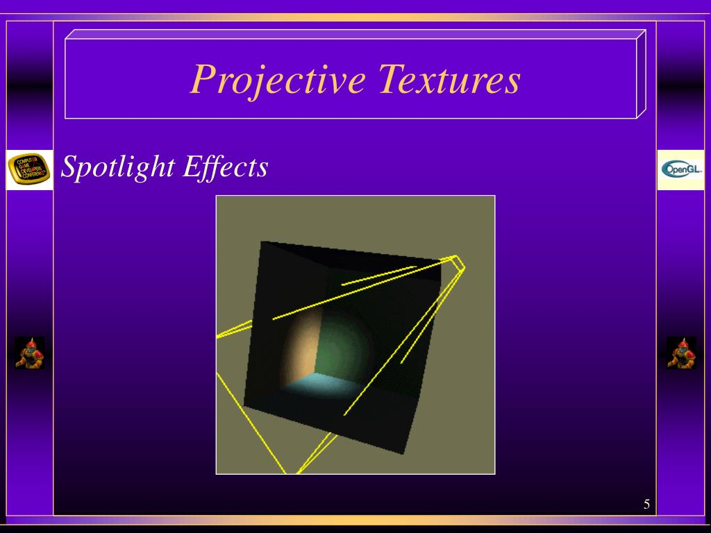 PPT - Projective Textures PowerPoint Presentation - ID:6875232