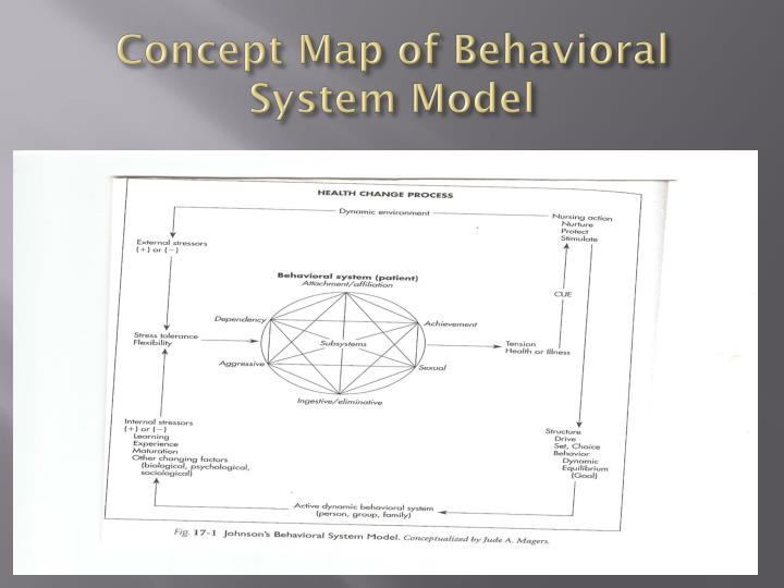 dorothy johnson's behavioral model theory into Analyzing dorothy johnson's behavioral health model 2 analyzing dorothy johnson's behavioral model systems from a mere concept to a hypothesis and a final research theory, this process is what guides nursing practice today.