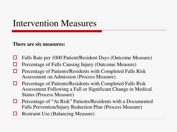 Intervention Measures