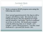 lecture quiz1
