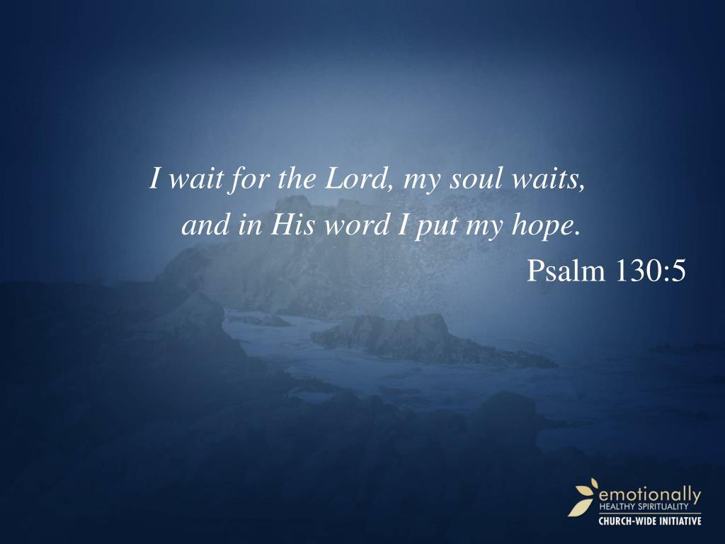 Psalm 130 Hebrew