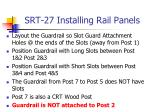 srt 27 installing rail panels