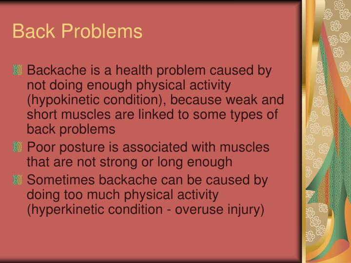 Back problems1