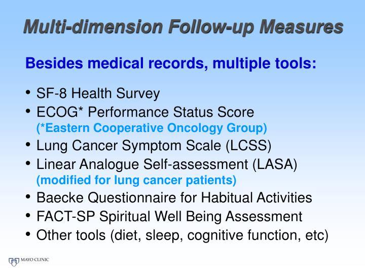 Multi-dimension Follow-up Measures