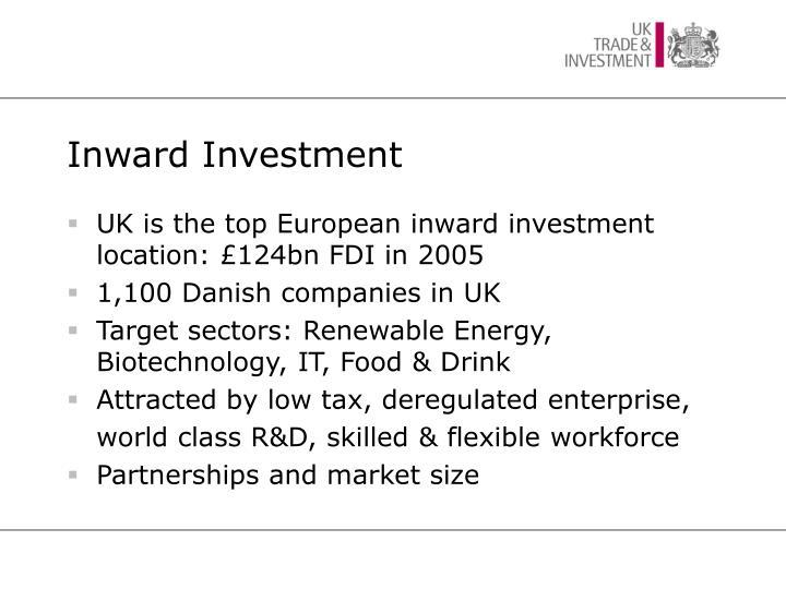 Inward Investment