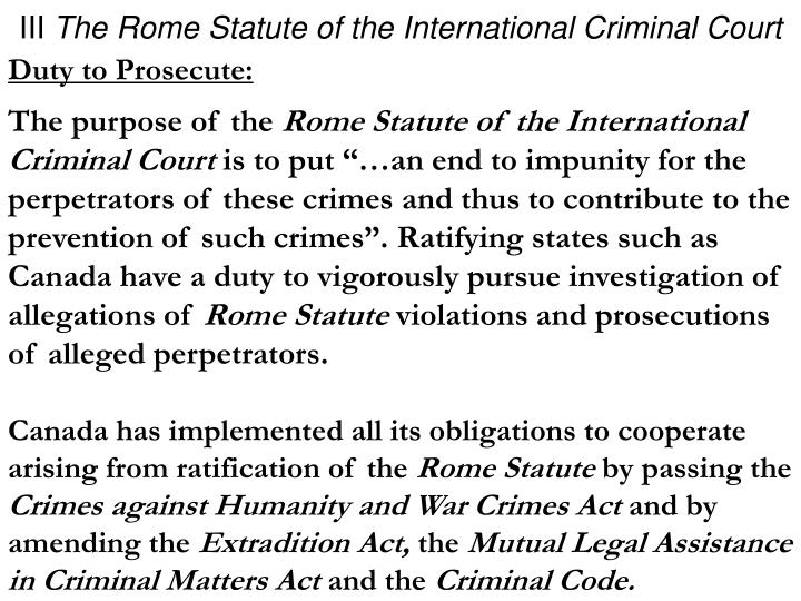 international criminal courts must prosecute genocide essay The first stream is constituted by international prosecutions, from nuremberg and tokyo via the international criminal tribunal for the former yugoslavia (icty) and its equivalent for rwanda (ictr) and finally on to the icc with its jurisdiction over cases of aggression, war crimes, crimes against humanity, and genocide.