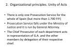 2 organizational principles unity of acts