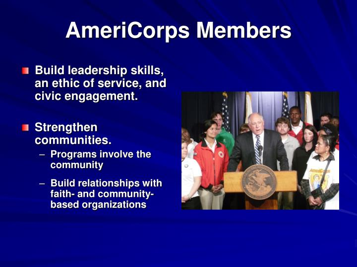 AmeriCorps Members