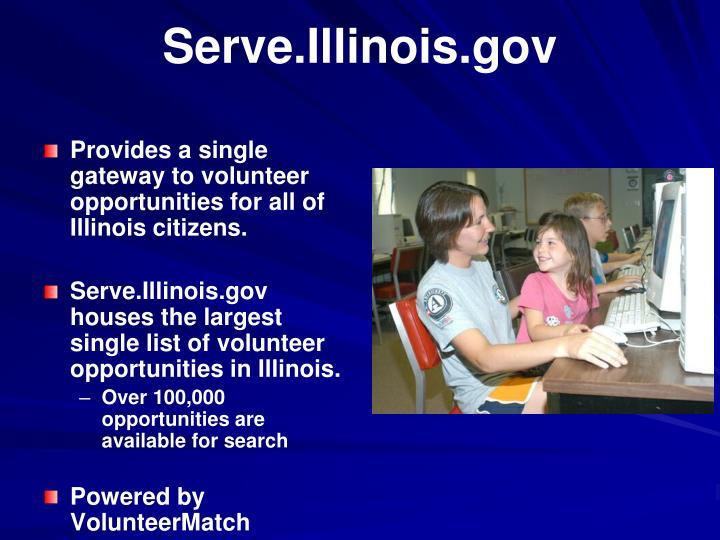 Serve.Illinois.gov