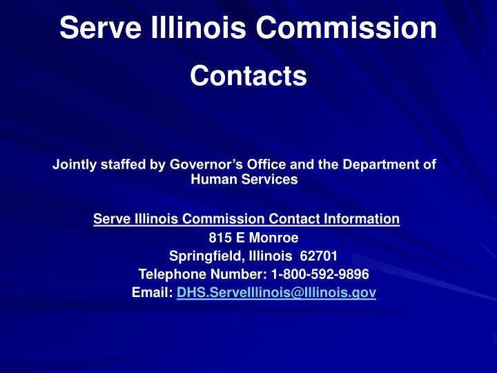 Serve Illinois Commission