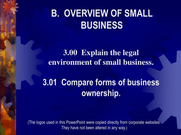 a comparison of small businesses with corporations Founded in 2003, small business trends is an award-winning online publication for small business owners, entrepreneurs and the people who interact with them it is one of the most popular independent small business publications on the web.
