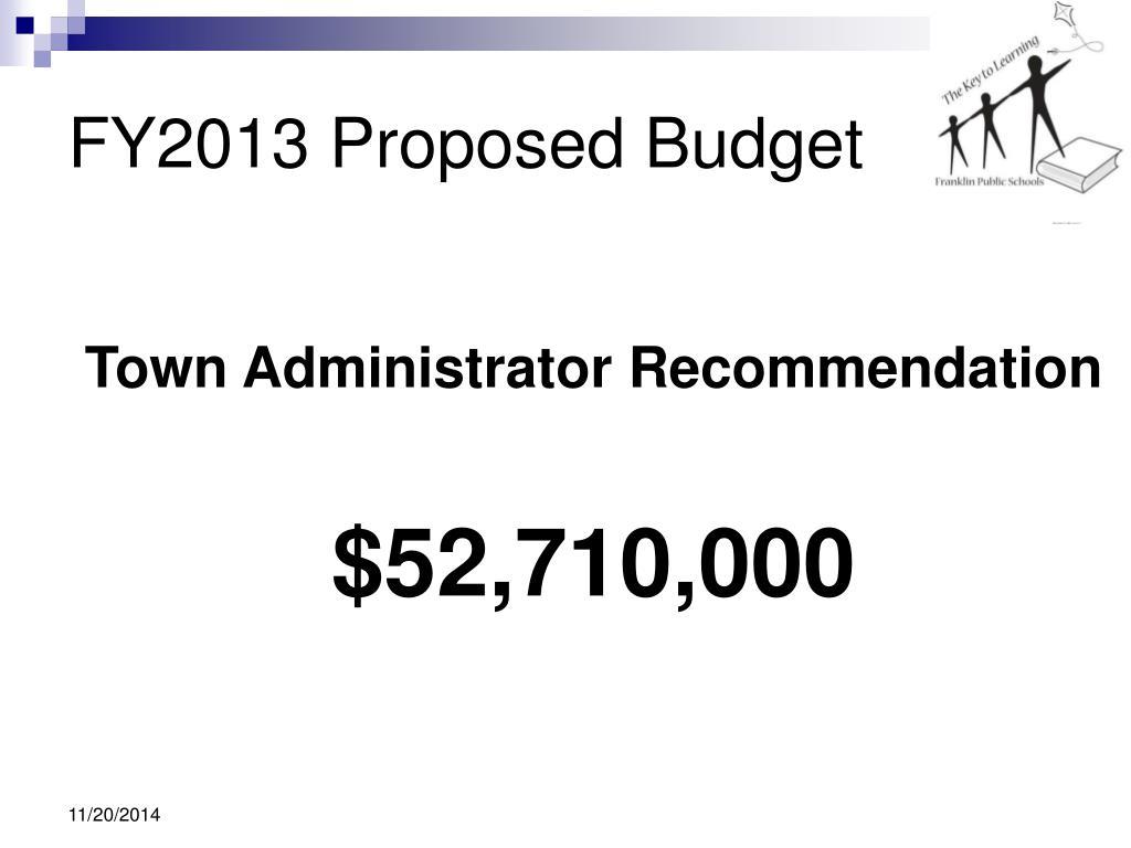 ppt - franklin public schools fy2013 budget hearing powerpoint presentation