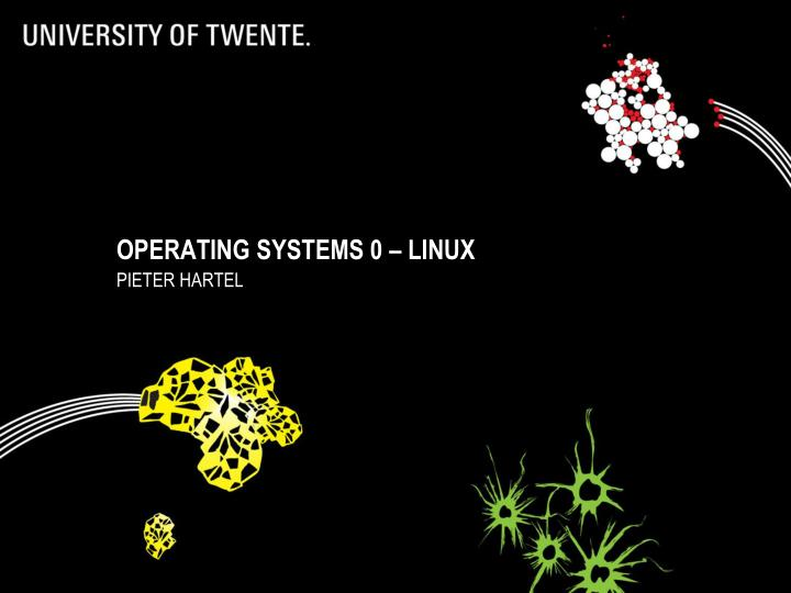 operating systems 0 linux n.