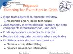 pegasus planning for execution in grids