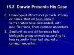 15 3 darwin presents his case12