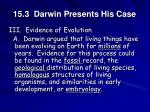 15 3 darwin presents his case7