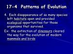 17 4 patterns of evolution2