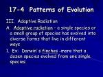 17 4 patterns of evolution3