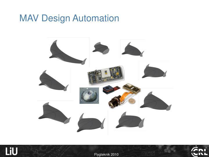 MAV Design Automation