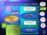 structure processes of wsis