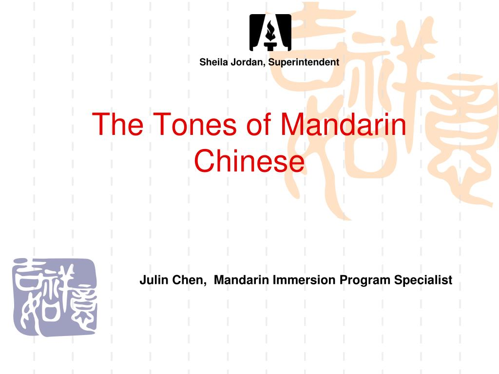 Ppt The Tones Of Mandarin Chinese Powerpoint Presentation Id6878265