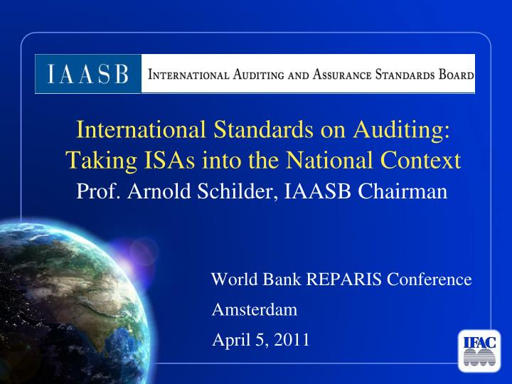 international standards The international accounting education standards board™ (iaesb™) is an independent standard-setting body that serves the public interest by establishing standards in the area of professional accounting education that prescribe technical competence and professional skills, values, ethics, and attitudes.