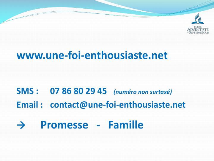 www.une-foi-enthousiaste.net