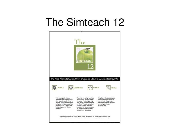 The simteach 12