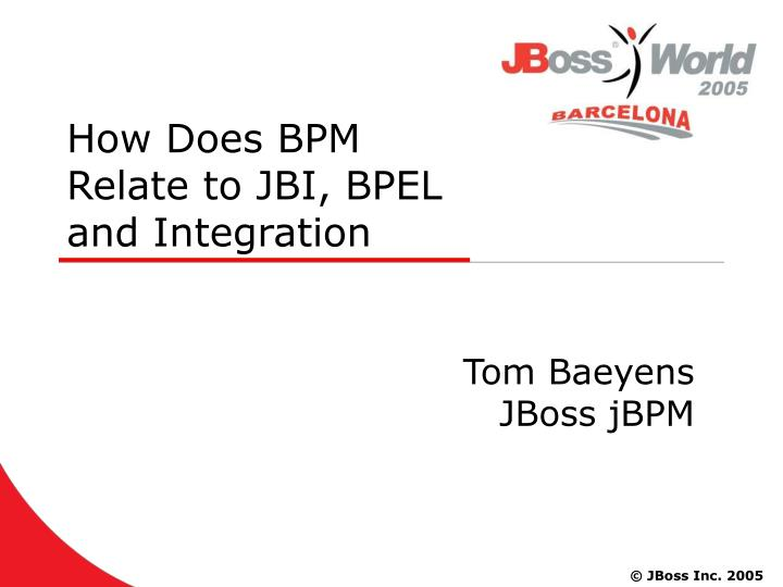 how does bpm relate to jbi bpel and integration n.