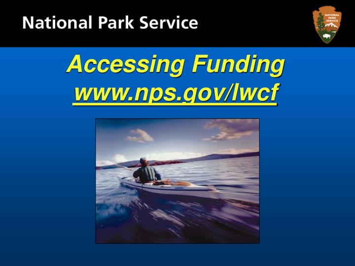 Accessing Funding