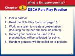 deca role play practice